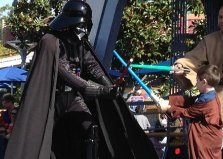 Renn & Darth Vader
