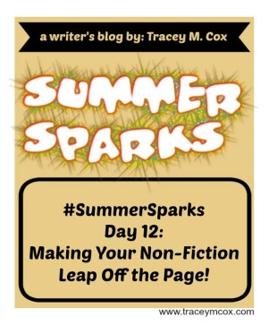 Summer Sparks Day 12
